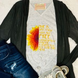 Wild & Free Perfectly Put Together Mess Tee